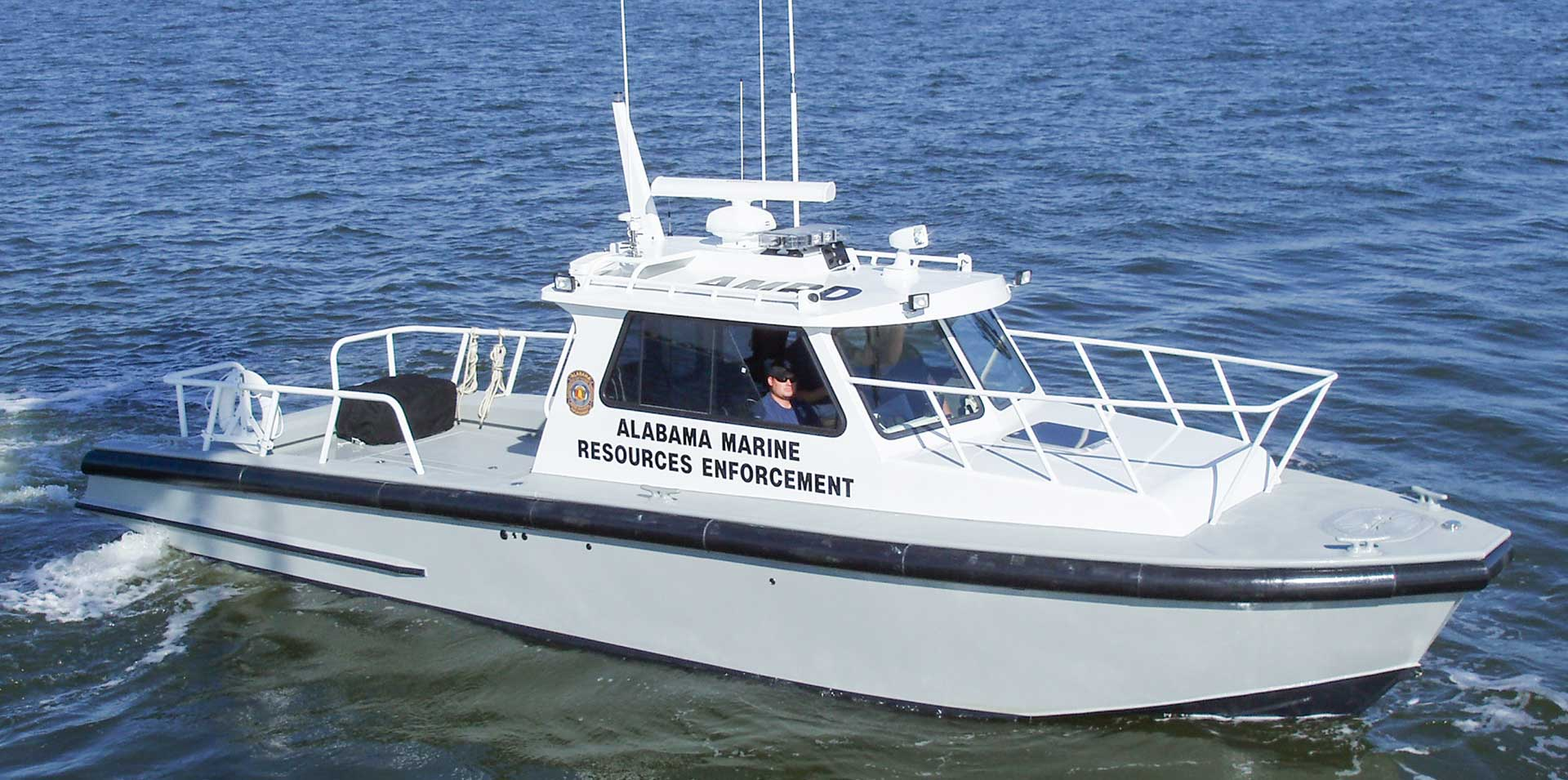 Silver Ships Endeavor Series law enforcement boat