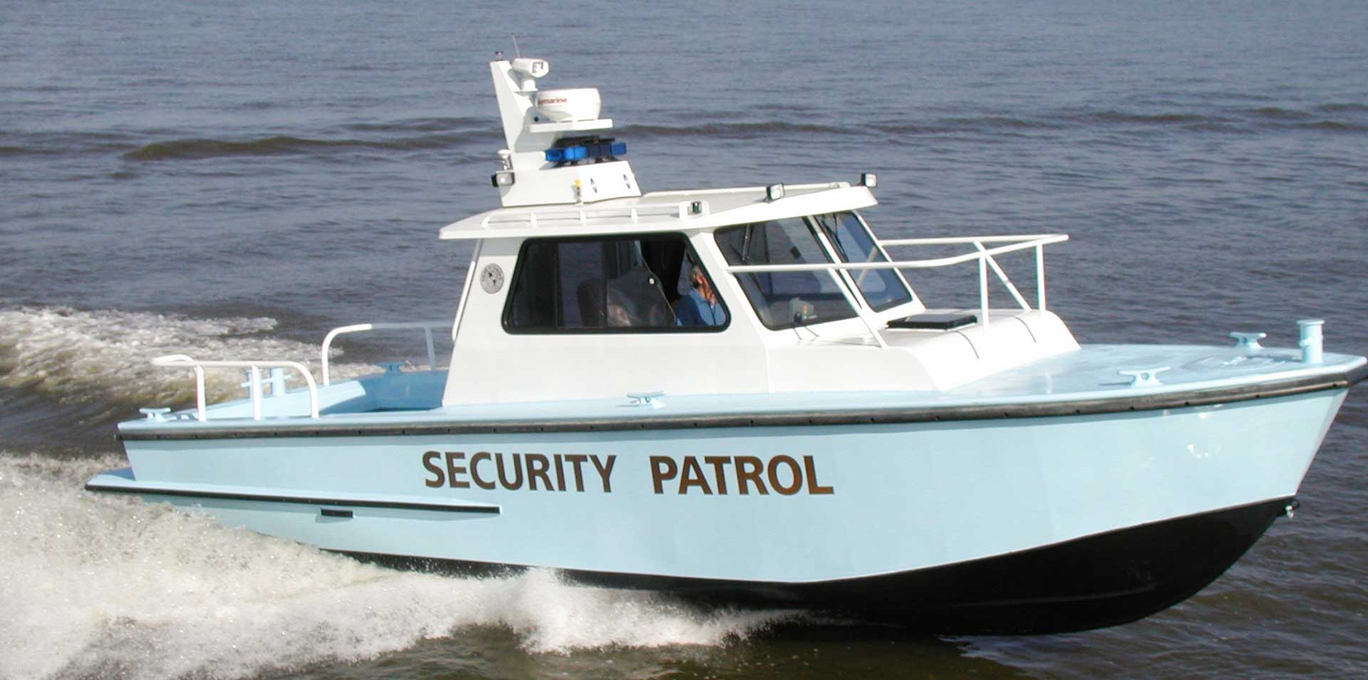 Silver Ships Endeavor Series security patrol boat