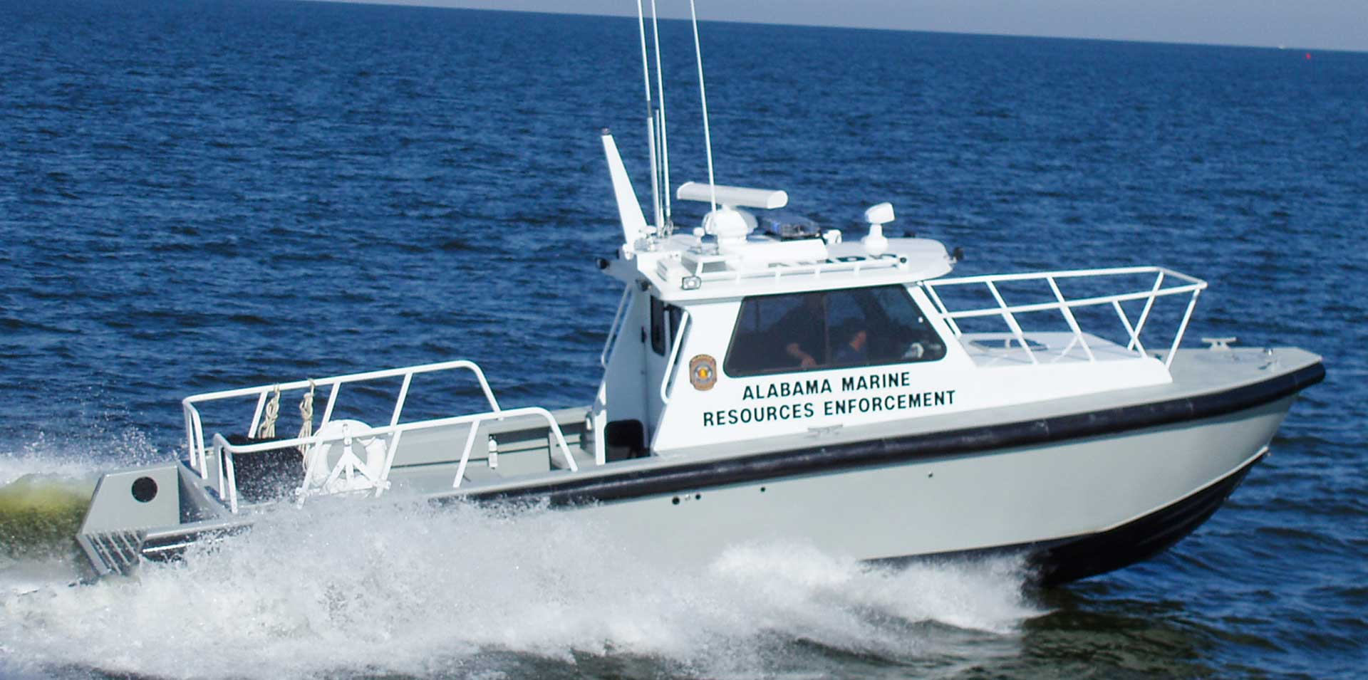 Silver Ships Endeavor Series Alabama Marine Resources Enforcement patrol boat