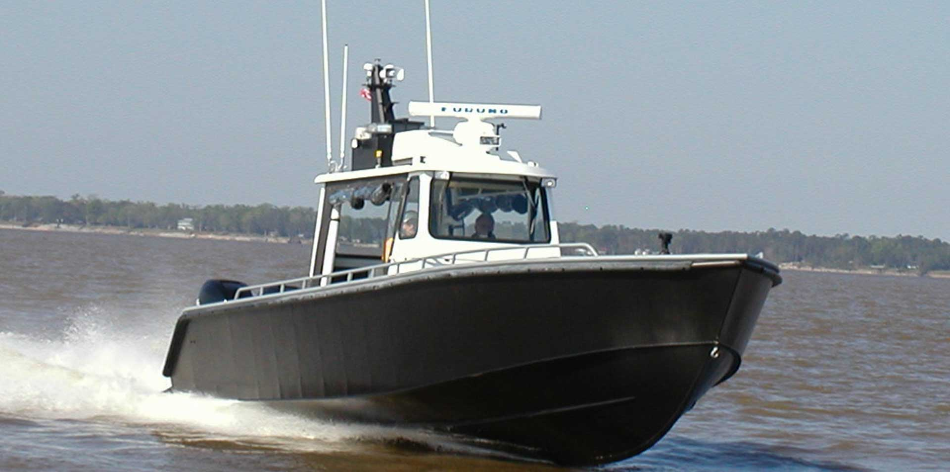 Silver Ships Endeavor Series aluminum patrol boat