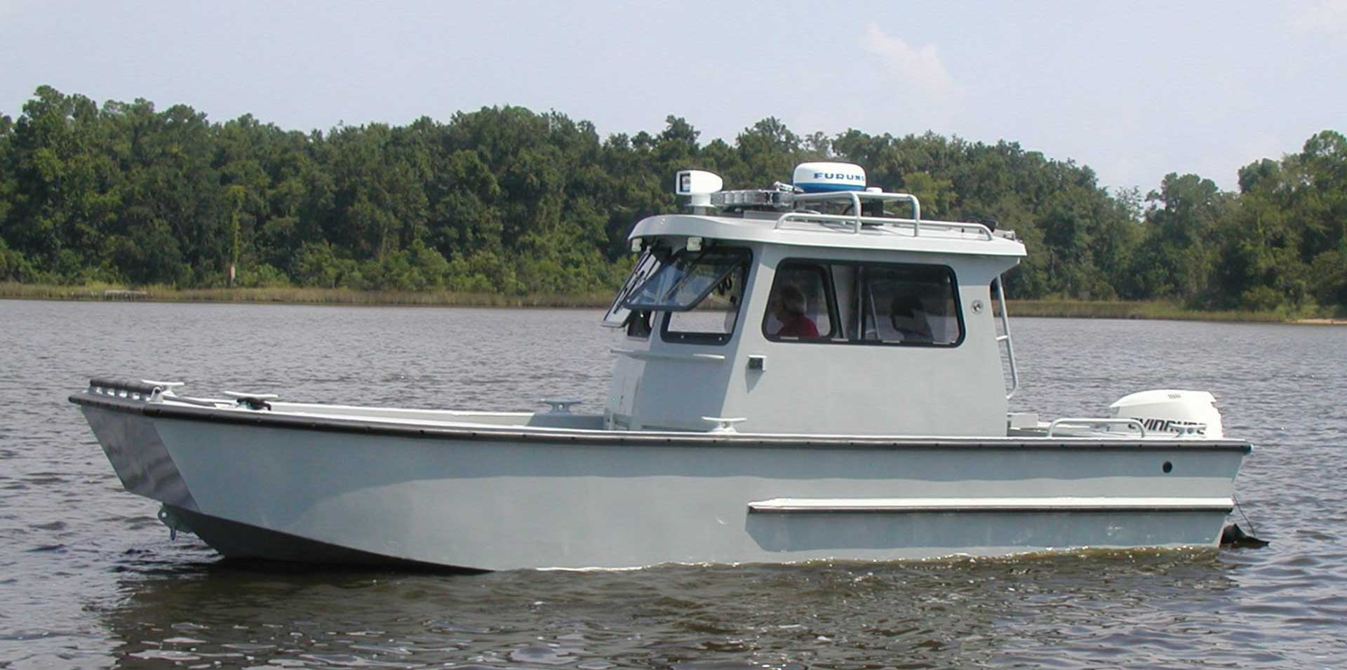 Silver Ships Explorer Series full pilothouse workboat
