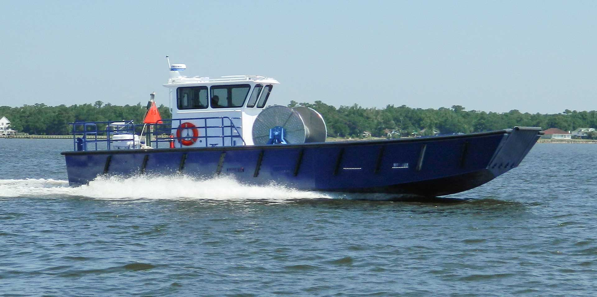 Silver Ships Explorer series workboat