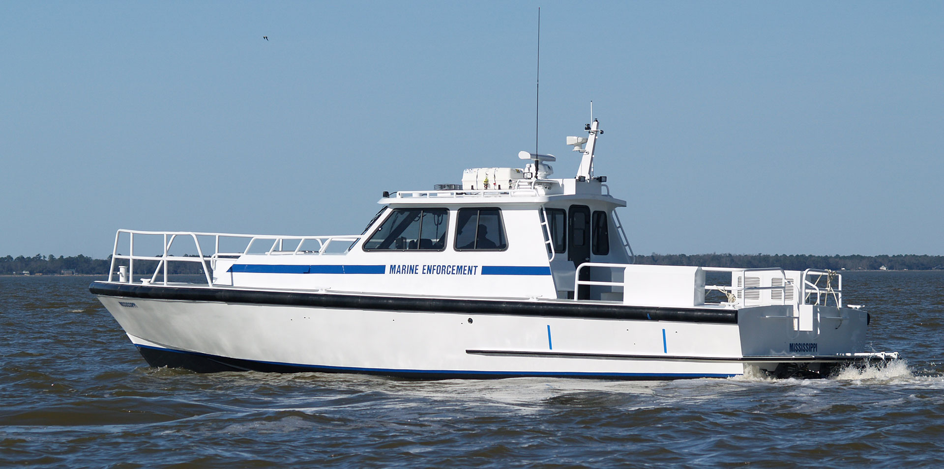 Silver Ships Endeavor series marine enforcement survey boat