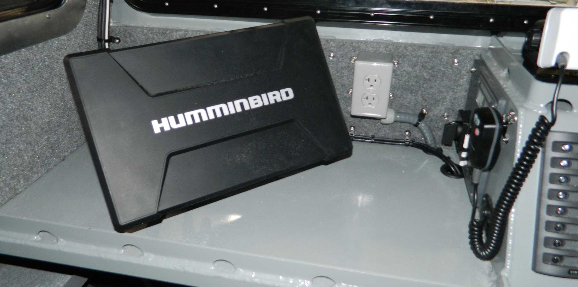 Silver Ships includes Humminbird electronics in some boats